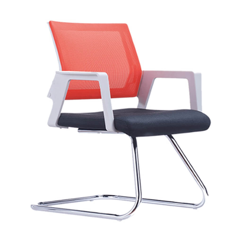 red-lax-mesh-back-office-chair