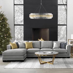 LU-Shape Sofa Sets
